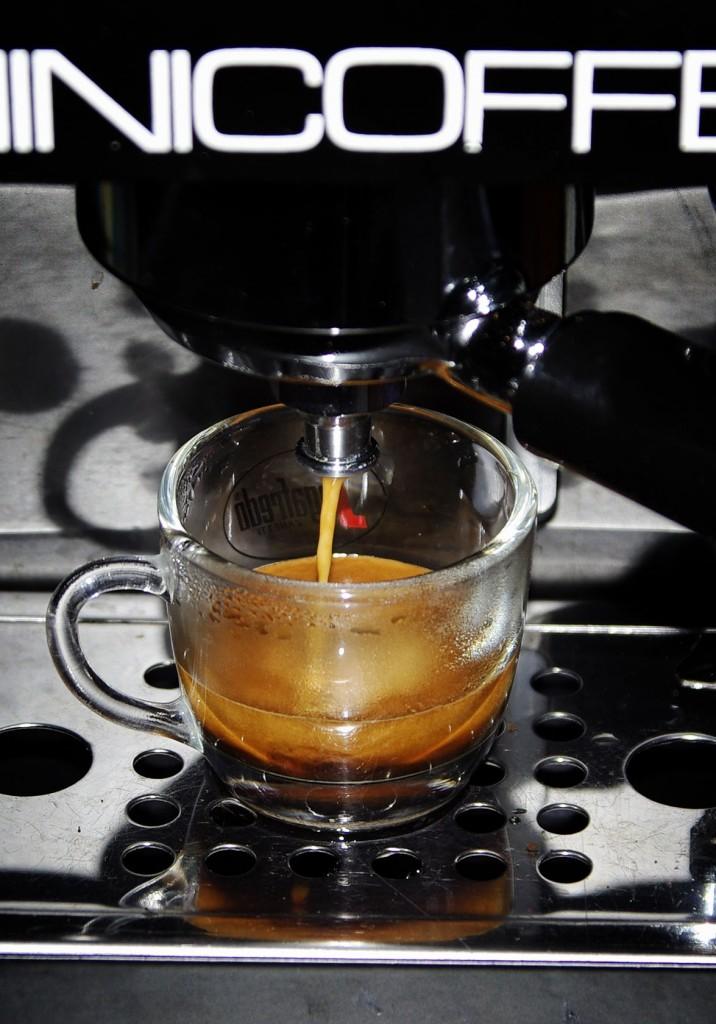 minicoffee csapolás