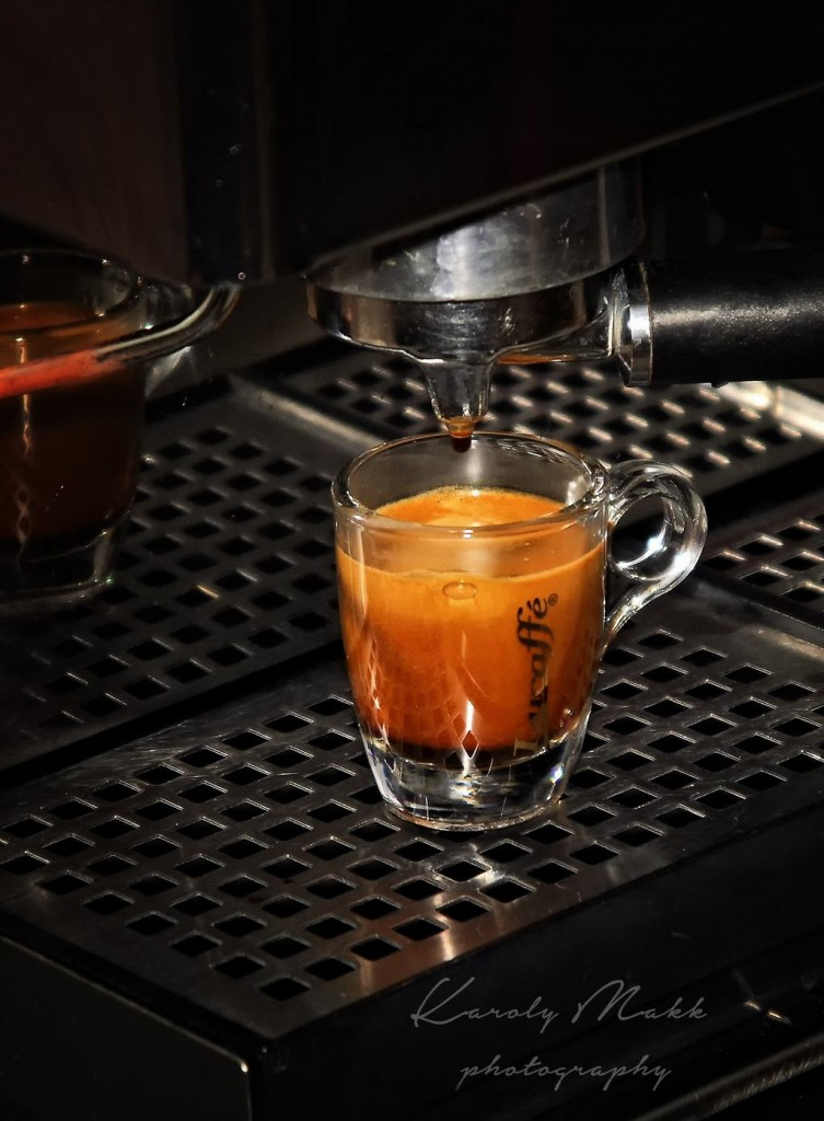 espresso with salda napoletana