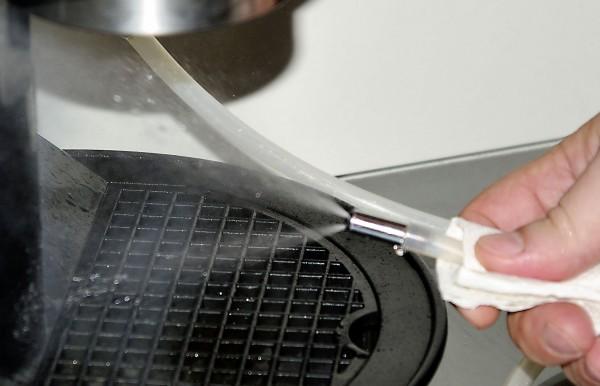 gőzzel tisztítás működés közben