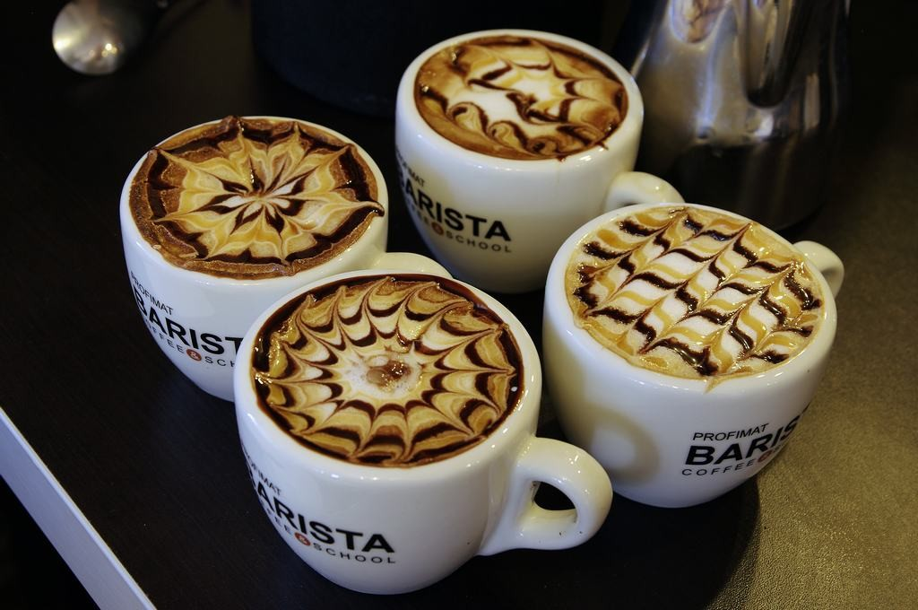 Standard latte rajzok.