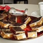 Keleti kávés szelet – Rózsavizes kávés kocka