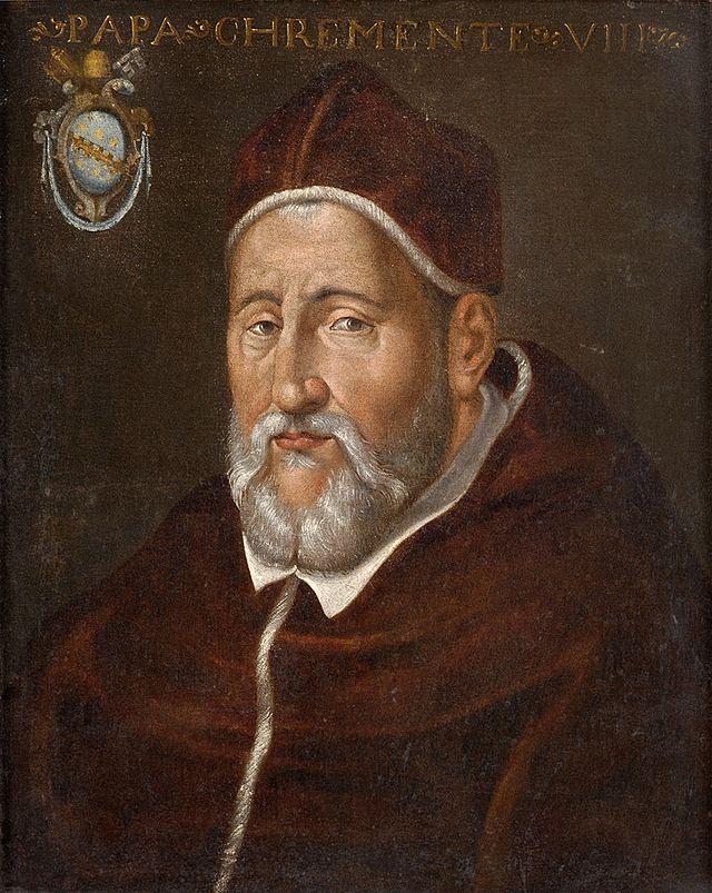 Papst_Clemens_VIII_Italian_17th_century