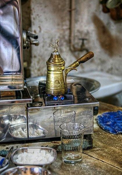 török kávéhoz eszközök
