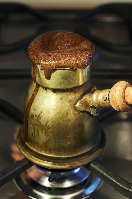 török kávé