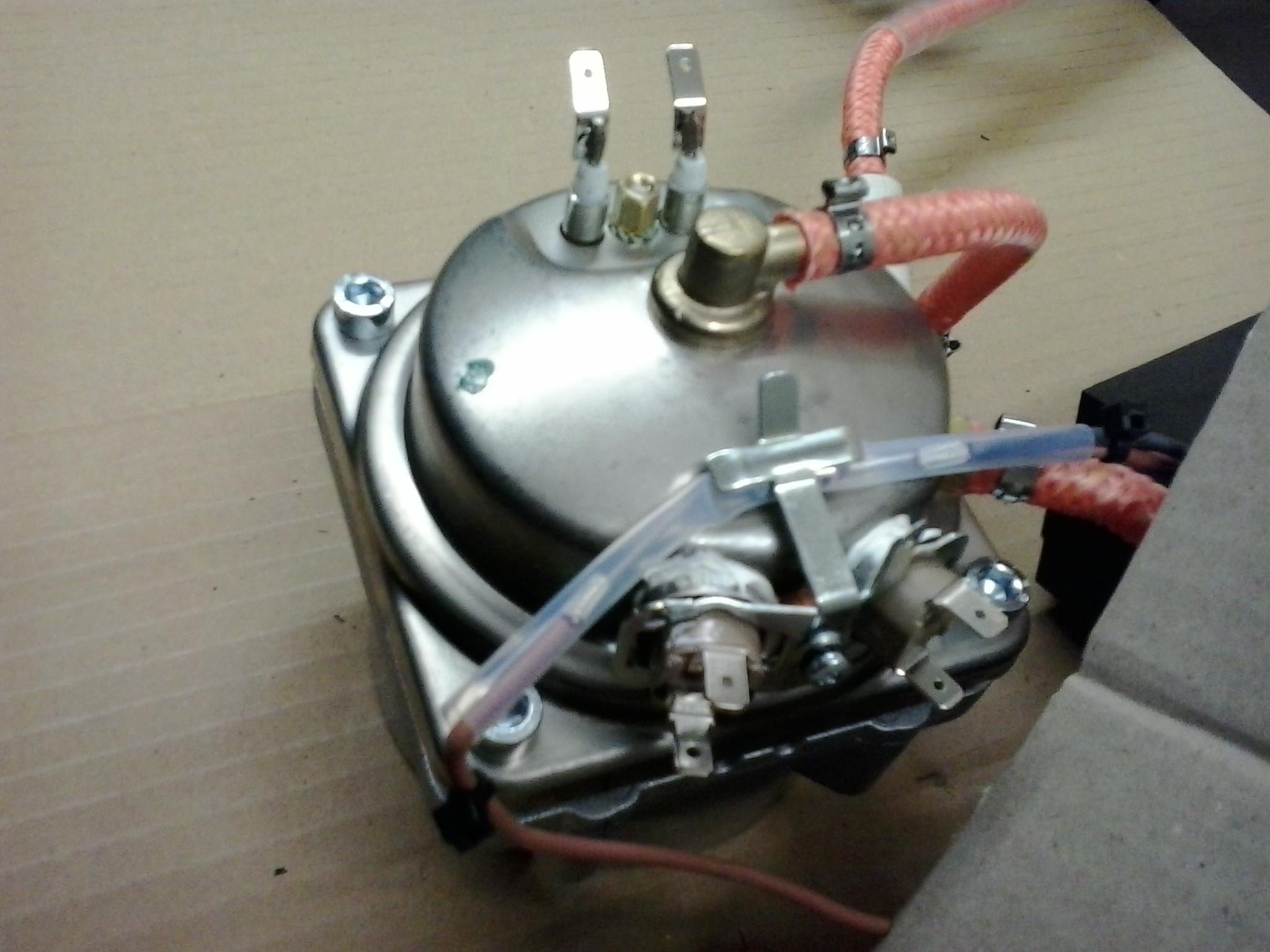 gaggia classic 2015 steel boiler