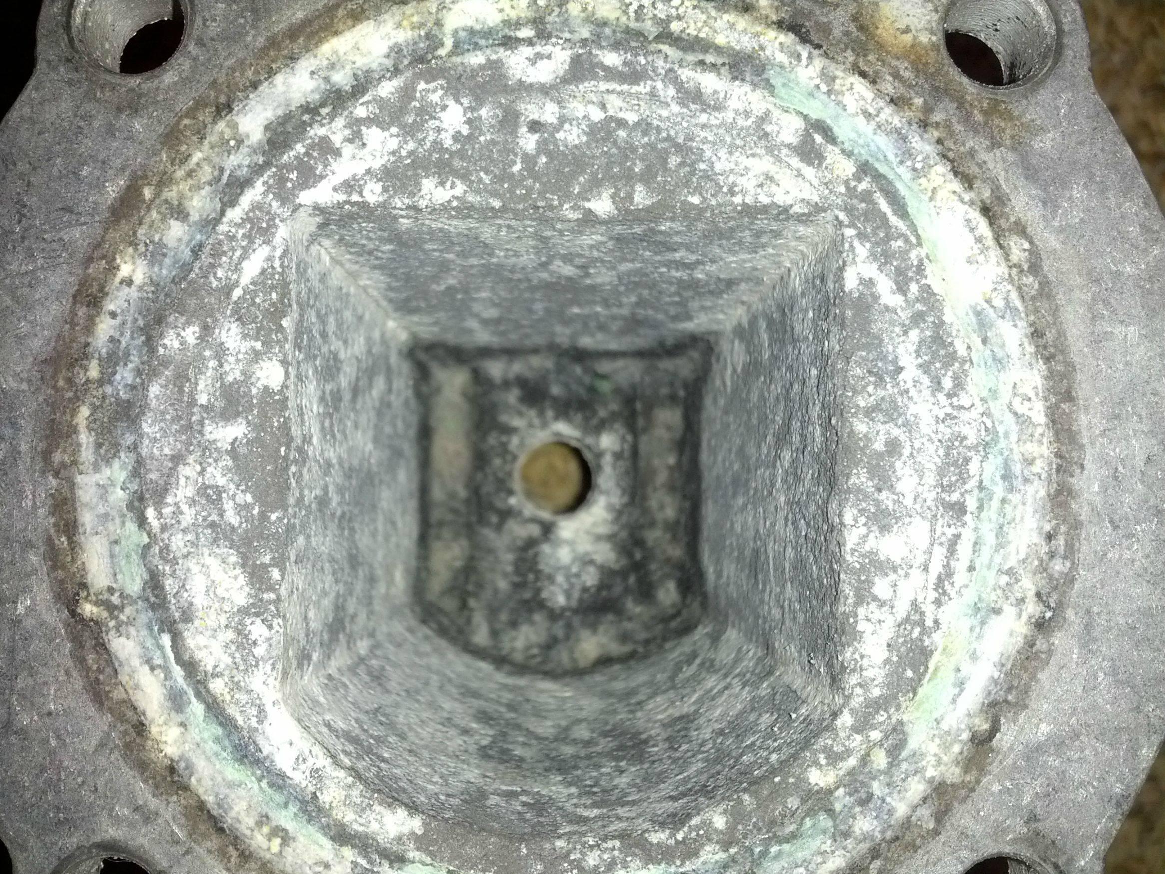 gaggia aluminium boiler