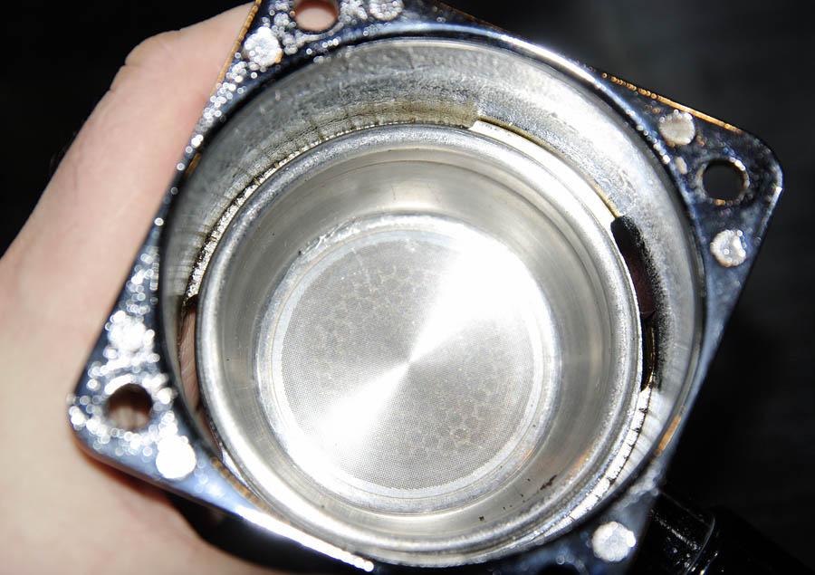 A kettő így nmár tökéletesen passzol. A fotók a karban a reneka szűrőkosár látható.