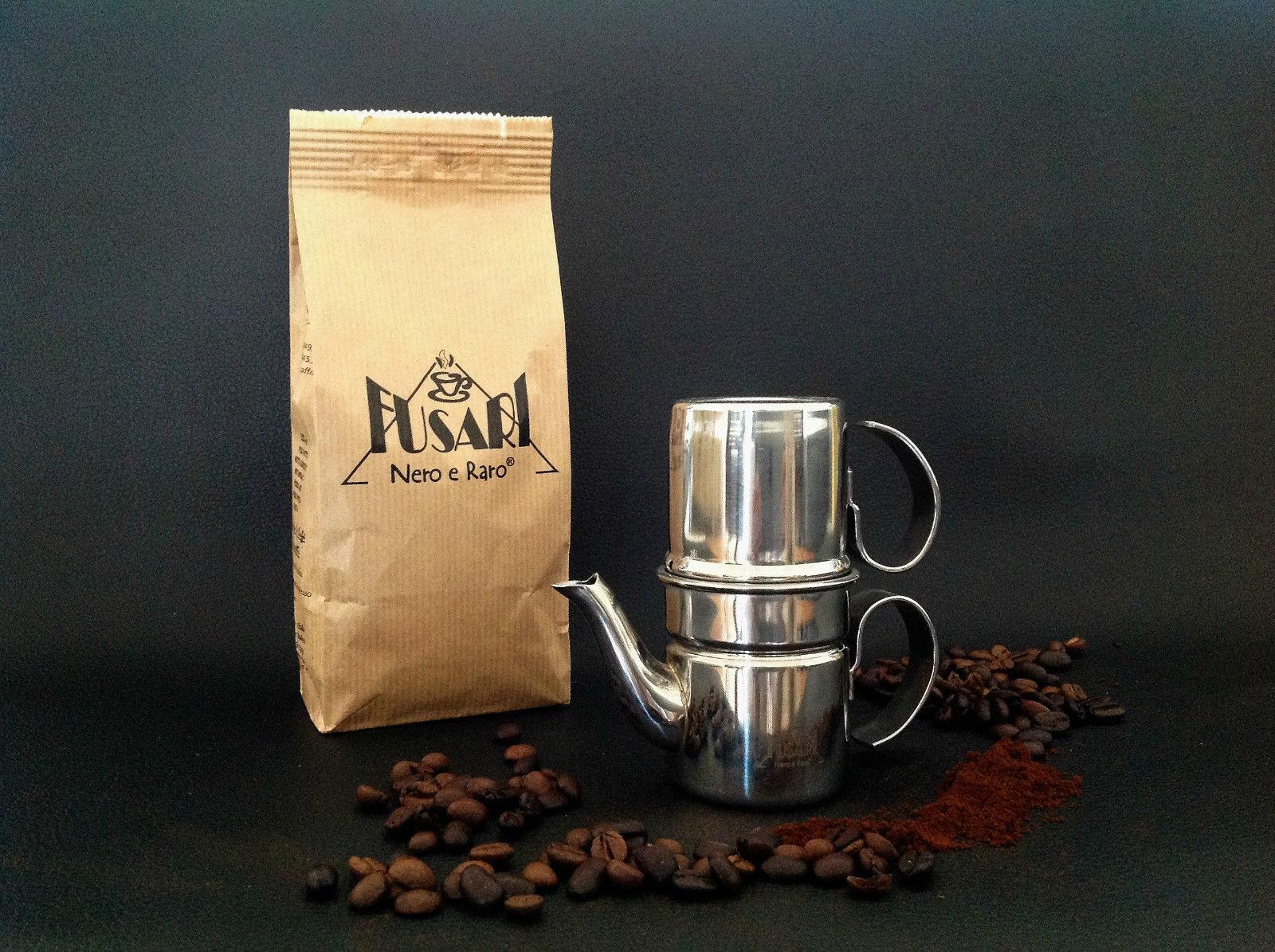 És talán a nekem legjobban tetsző verzió. Formájában ez hasonlít leginkább az eredetire, csak már modern megmunkálással és anyagokból készül. A caffefusari.it-től rendelhető, 56EUR áron.