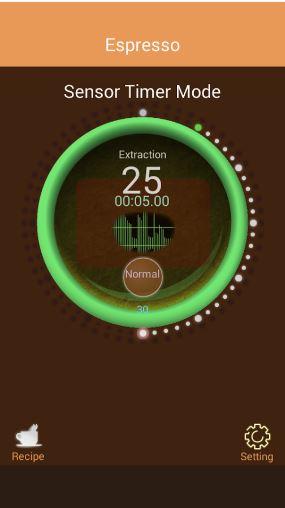 perfect espresso timer