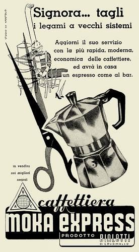 vintage bialetti advertisement