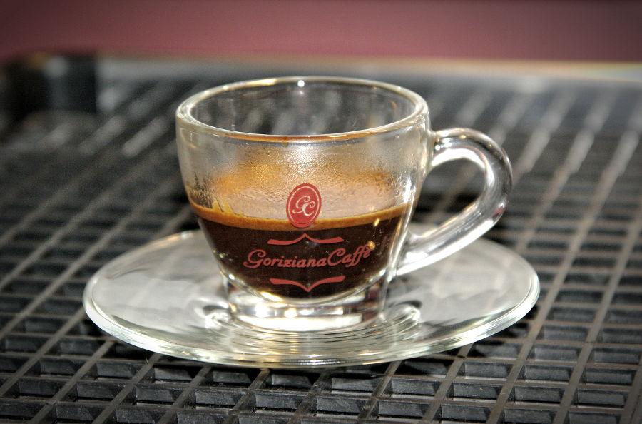 goriziana glass cup