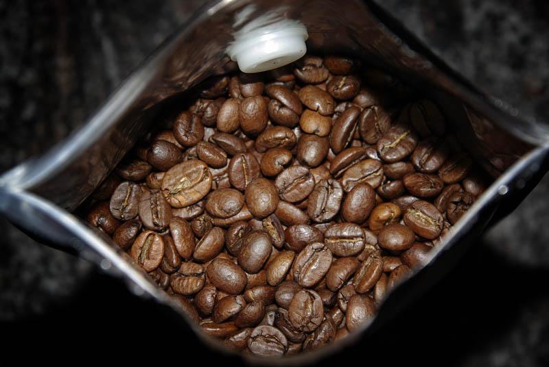 Trismoka Degustazione, beans