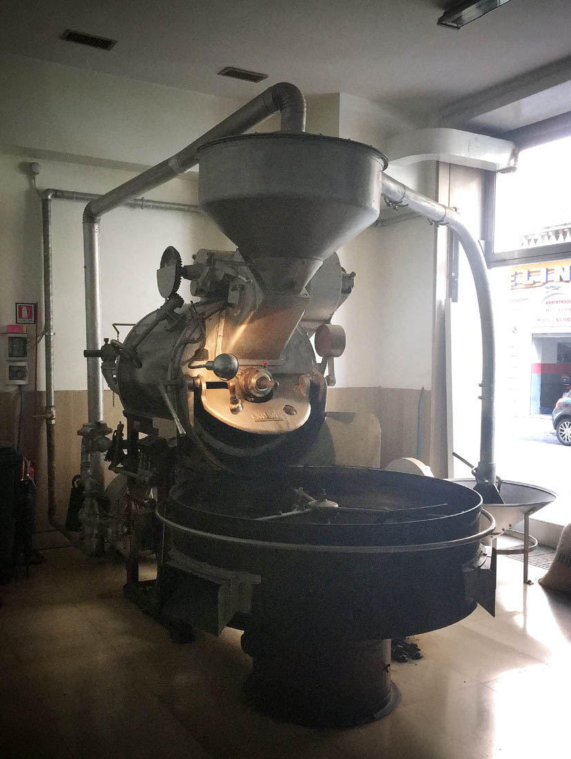 ciami caffee rome vintage probat