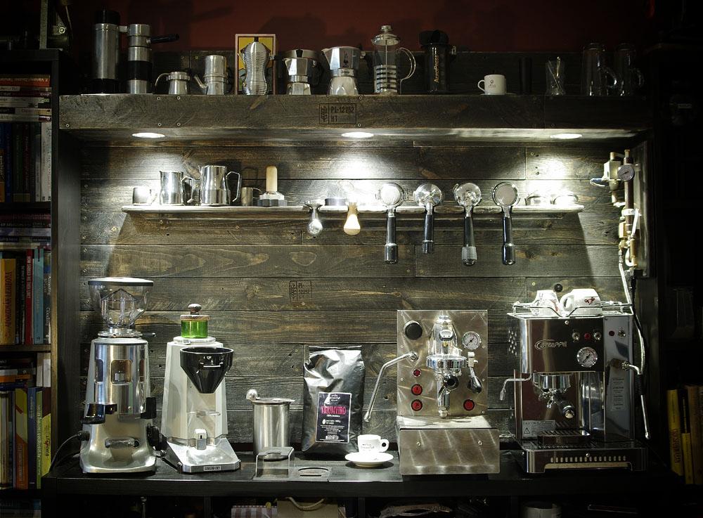 kávés pult raklap pallet coffee