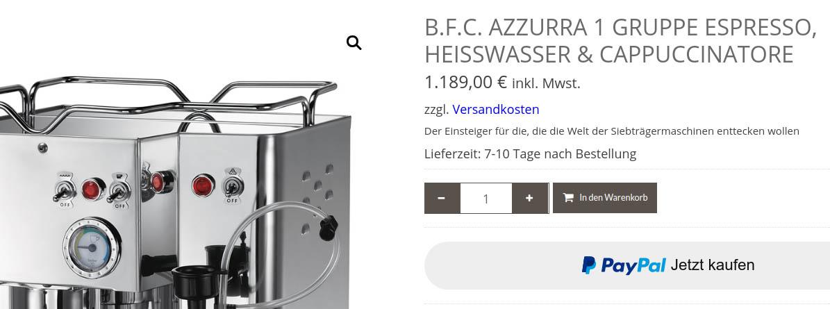 bfc azzurra in webshop