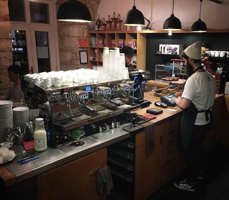espresso embassy arduino